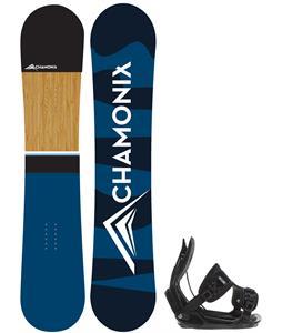 Chamonix Haute Snowboard w/ Flow Alpha Bindings