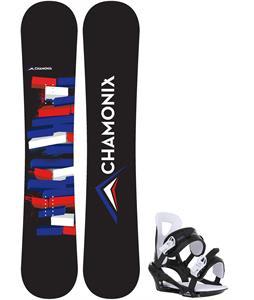 Chamonix Servoz Snowboard w/ Chamonix Savoy Bindings