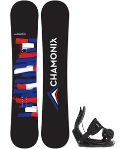 Chamonix Servoz Snowboard w/ Flow Alpha Bindings