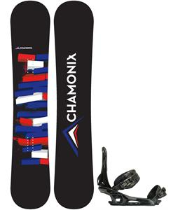 Chamonix Servoz Snowboard w/ Rome United Bindings