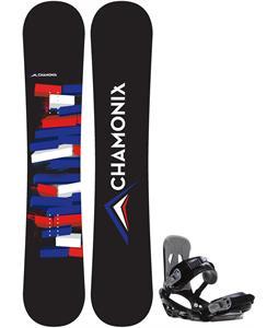 Chamonix Servoz Snowboard w/ Sapient Stash Bindings