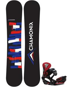 Chamonix Servoz Snowboard w/ Sapient Wisdom Bindings