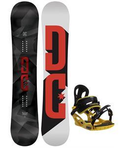 DC Focus Snowboard w/ M3 Pivot Rockstar Bindings