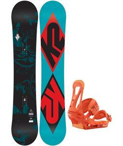 K2 Standard Snowboard   w/ Burton Freestyle Bindings