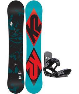 K2 Standard Snowboard   w/ Sapient Stash Bindings