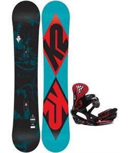 K2 Standard Snowboard   w/ Sapient Wisdom Bindings
