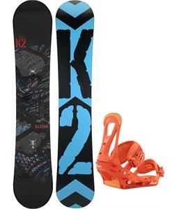 K2 Illusion Snowboard w/ Burton Freestyle Bindings
