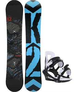 K2 Illusion Snowboard w/ Chamonix Savoy Bindings