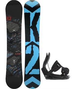 K2 Illusion Snowboard w/ Flow Alpha Bindings