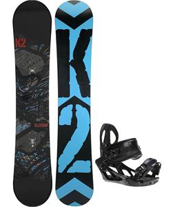 K2 Illusion Snowboard w/ K2 Sonic Bindings