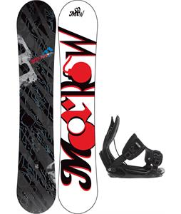 Morrow Fury Snowboard w/ Flow Alpha Bindings