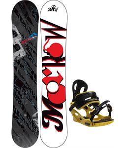 Morrow Fury Snowboard w/ M3 Pivot Rockstar Bindings