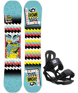 Rome Butter Knife Snowboard w/ Head NX One Bindings