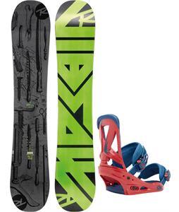Rossignol Jibsaw Magtek Wide Snowboard   w/ Burton Custom Bindings