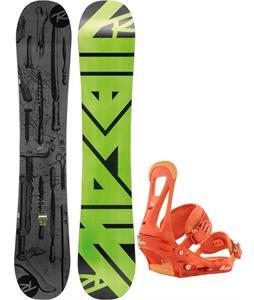 Rossignol Jibsaw Magtek Wide Snowboard   w/ Burton Freestyle Bindings