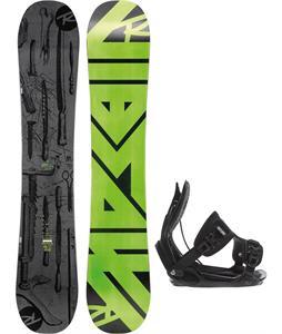 Rossignol Jibsaw Magtek Wide Snowboard   w/ Flow Alpha Bindings