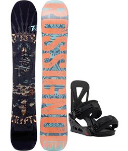 Rossignol Krypto Magtek Snowboard w/ Burton Custom Re:Flex Bindings