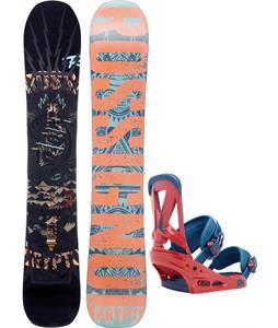 Rossignol Krypto Magtek Snowboard w/ Burton Custom Bindings
