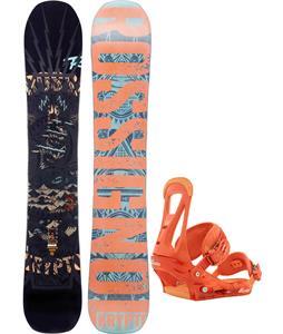 Rossignol Krypto Magtek Snowboard w/ Burton Freestyle Bindings