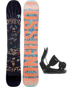Rossignol Krypto Magtek Snowboard w/ Flow Alpha Bindings