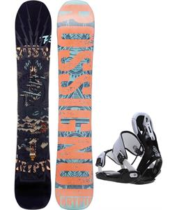 Rossignol Krypto Magtek Snowboard w/ Flow Five Bindings