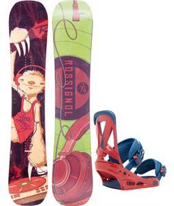 Rossignol Retox Amptek Snowboard   w/ Burton Custom Bindings