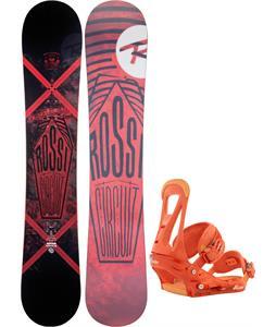 Rossignol Circuit Amptek Snowboard w/ Burton Freestyle Bindings