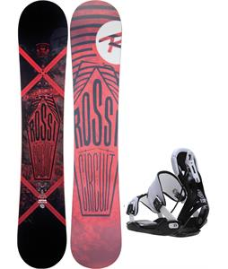 Rossignol Circuit Amptek Snowboard w/ Flow Five Bindings