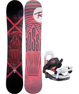 Rossignol Circuit Amptek Snowboard w/ Rossignol Cobra V2 Bindings 2017