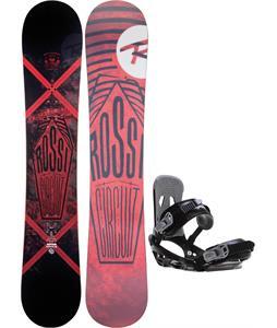 Rossignol Circuit Amptek Snowboard w/ Sapient Stash Bindings