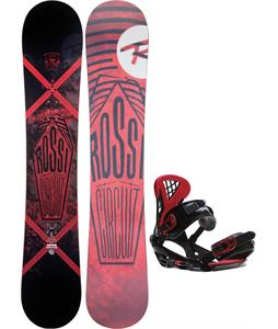 Rossignol Circuit Amptek Snowboard w/ Sapient Wisdom Bindings