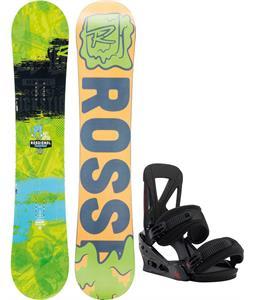 Rossignol Trickstick Amptek Wide Snowboard w/ Burton Custom Re:Flex Bindings