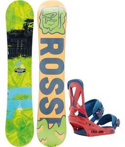Rossignol Trickstick Amptek Wide Snowboard w/ Burton Custom Bindings