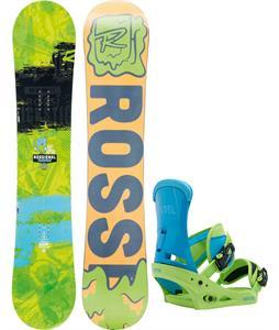 Rossignol Trickstick Amptek Wide Snowboard w/ Burton Infidel Bindings