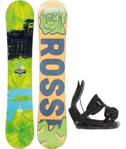 Rossignol Trickstick Amptek Wide Snowboard w/ Flow Alpha Bindings