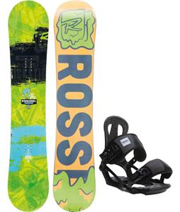 Rossignol Trickstick Amptek Wide Snowboard w/ Head NX One Bindings