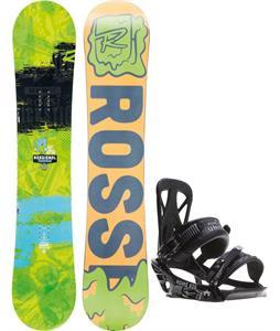 Rossignol Trickstick Amptek Wide Snowboard w/ Rome United Bindings