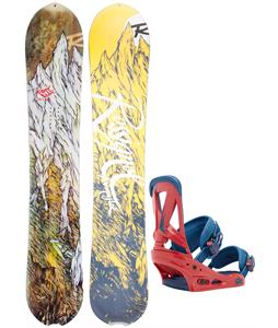 Rossignol XV Magtek Snowboard w/ Burton Custom Bindings