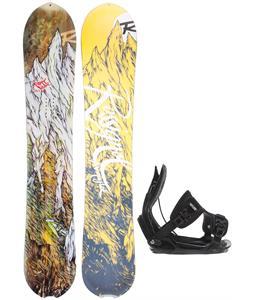 Rossignol XV Magtek Snowboard w/ Flow Alpha Bindings
