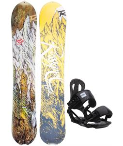 Rossignol XV Magtek Snowboard w/ Head NX One Bindings