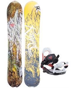 Rossignol XV Magtek Snowboard w/ Rossignol Cobra V2 Bindings 2017