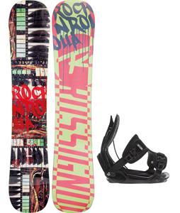 Rossignol Rocknrolla Amptek Snowboard w/ Flow Alpha Bindings