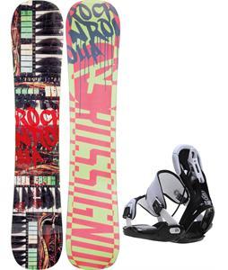 Rossignol Rocknrolla Amptek Snowboard w/ Flow Five Bindings