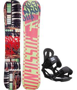 Rossignol Rocknrolla Amptek Snowboard w/ Head NX One Bindings