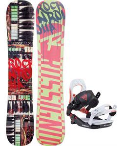 Rossignol Rocknrolla Amptek Snowboard w/ Rossignol Cobra V2 Bindings 2017