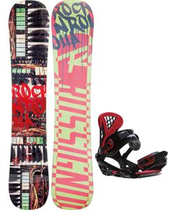 Rossignol Rocknrolla Amptek Snowboard w/ Sapient Wisdom Bindings