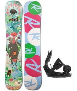 Rossignol Retox Amptek Snowboard w/ Flow Alpha Bindings