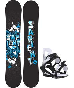 Sapient Trust Wide Snowboard w/ Chamonix Savoy Bindings