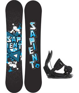 Sapient Trust Wide Snowboard w/ Flow Alpha Bindings