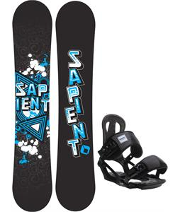 Sapient Trust Wide Snowboard w/ Head NX One Bindings